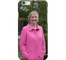 Carol Kirkwood BBC Weather presenter iPhone Case/Skin