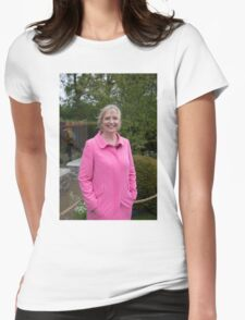 Carol Kirkwood BBC Weather presenter Womens Fitted T-Shirt
