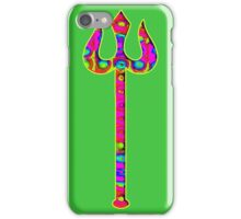 Psychedelic Trident. iPhone Case/Skin