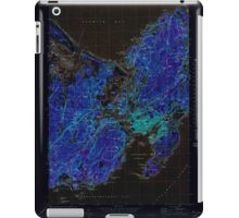 Massachusetts  USGS Historical Topo Map MA Gloucester 350970 1973 25000 Inverted iPad Case/Skin