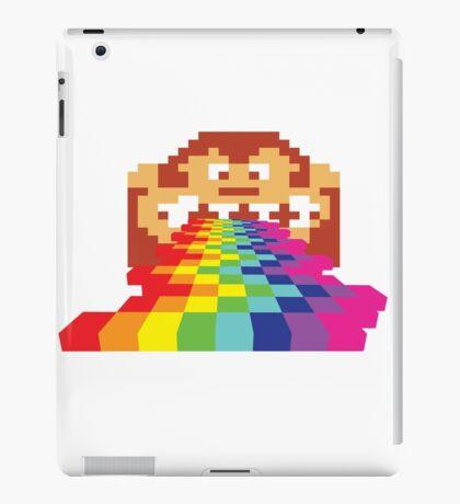 8 Bit Donkey Kong Rainbow iPad Case/Skin