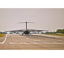 Touch down!  Photographic Print