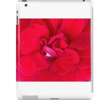 Really Ruby Red iPad Case/Skin