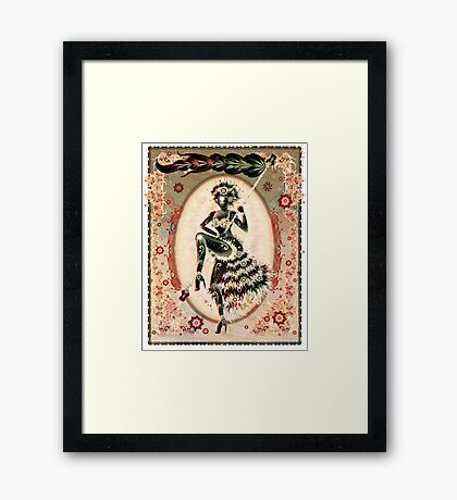 Autumn Marching Framed Print