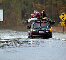 Creek Rescue by Brett Clark
