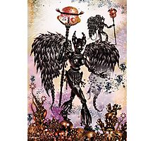Obsidian Angels Photographic Print