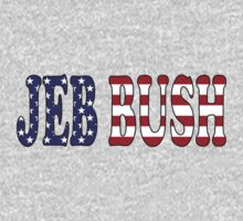 Jeb Bush - President Election Republican Sticker Decal Support One Piece - Long Sleeve