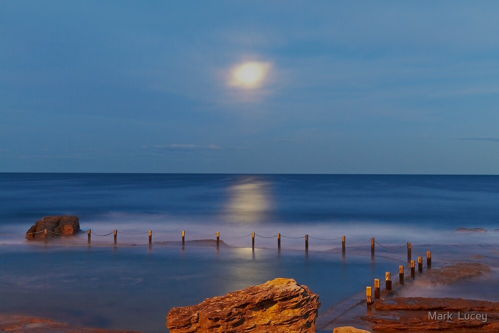 Moonrise by Mark  Lucey