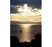 Lake view from Burlington Photographic Print