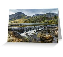 Llyn Ogwen Weir Greeting Card