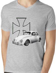Iron Cross VW Bug Mens V-Neck T-Shirt