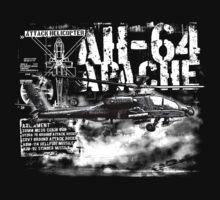 AH-64 Apache One Piece - Short Sleeve
