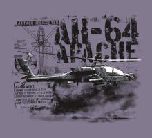 AH-64 Apache Kids Tee