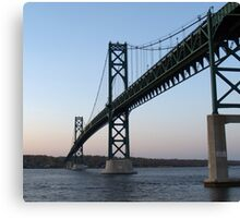 Rhode Island Bridge Canvas Print