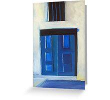 Greek Portals Greeting Card