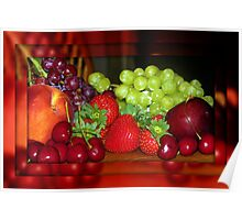 Luscious Fruit Poster