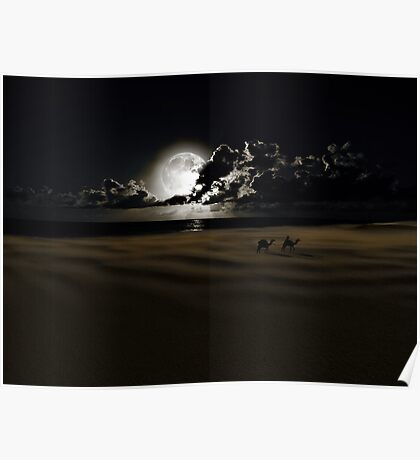 By Moonlight Poster