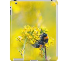 Bee Happy in Yellow iPad Case/Skin