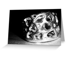 Wear your heart on your hand Greeting Card