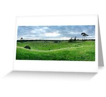 Curragh Cemetery Panorama Greeting Card