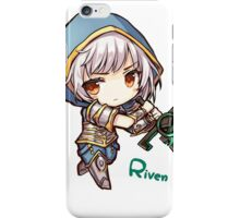 Riven Chibi - League of Legends iPhone Case/Skin