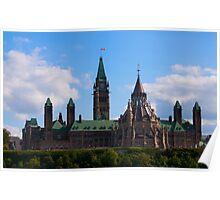 Parliament - Central Block, Ottawa Poster