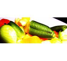 Veggies! Photographic Print