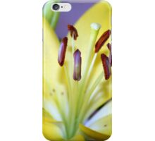 Yellow Lily iPhone Case/Skin