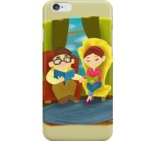 Little Golden Book - Up iPhone Case/Skin