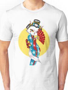 Geisha Meow Unisex T-Shirt