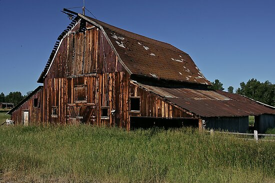 The Weathered Barn #3 by Ken McElroy