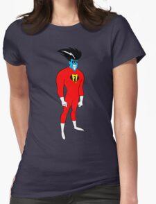 F! Superhero Womens Fitted T-Shirt