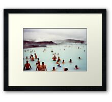 After Party at the Blue Lagoon Framed Print
