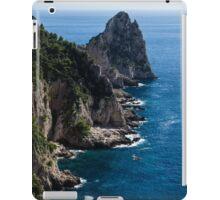 Limestone Cliffs and Seastacks - a Capri Island Vacation iPad Case/Skin