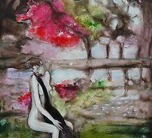 Leda and the Swan II by annamora