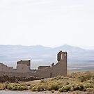 Rhyolite - a goast town outside Death Valley on the western edge of Nevada by Kent Burton