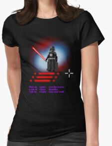 A darth adventure Womens Fitted T-Shirt
