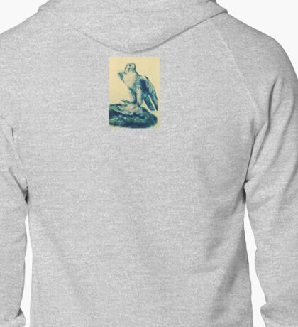 Eagle with prey Zipped Hoodie