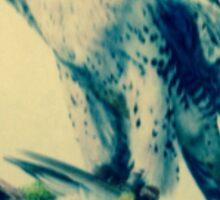 Eagle with prey Sticker