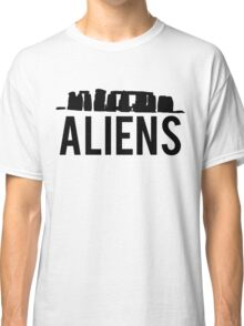 Aliens Ancient Monuments Evidence Classic T-Shirt
