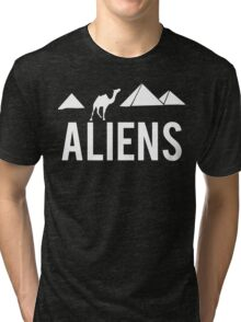 Aliens Ancient Monuments Evidence Tri-blend T-Shirt
