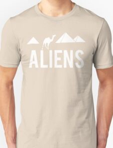 Aliens Ancient Monuments Evidence Unisex T-Shirt