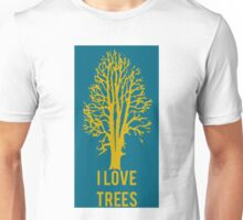 I Love Trees Classic  Environmental Forests Unisex T-Shirt