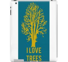 I Love Trees Classic  Environmental Forests iPad Case/Skin