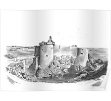Île d'Yeu French Castle Poster