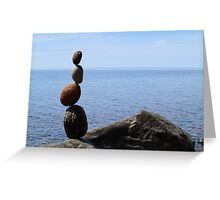 Kadunce Beach Zig Zag Greeting Card
