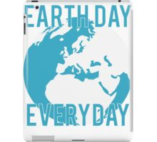 Earth Day Everyday iPad Case/Skin