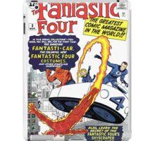 Fantastic Four Comic iPad Case/Skin