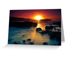 Sunrise at Bushrangers Bay Greeting Card