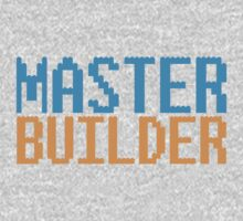 MASTER BUILDER with toy bricks Kids Clothes